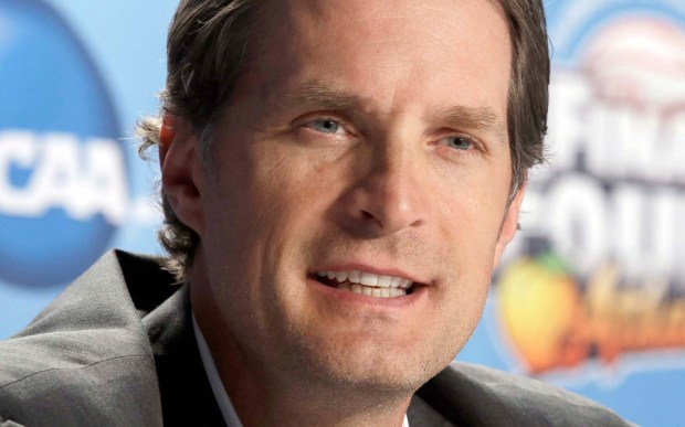 """Former Minnesota Timberwolves forward-center Christian Laettner, whose NBA career never quite measured up to his college promise, though he did make the 1992 Olympic """"Dream Team,"""" is 47. (Associated Press: John Bazemore)"""