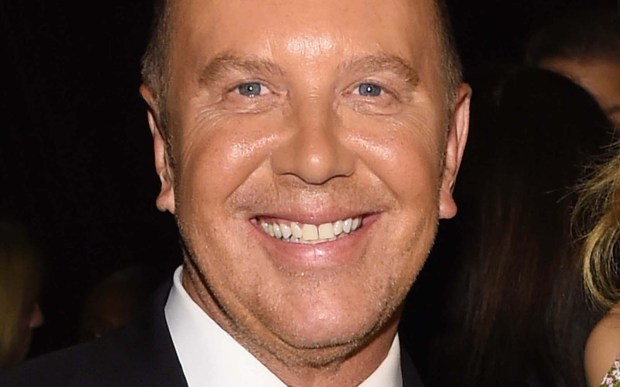 Michael Kors, 57, a New York City-based fashion designer known for designing classic American sportswear for women. (Getty Images: Larry Busacca)