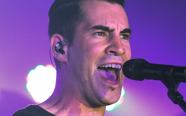 Singer Tyler Connolly of Theory of a Deadman is 41. (Getty Images: Dave Kotinsky)