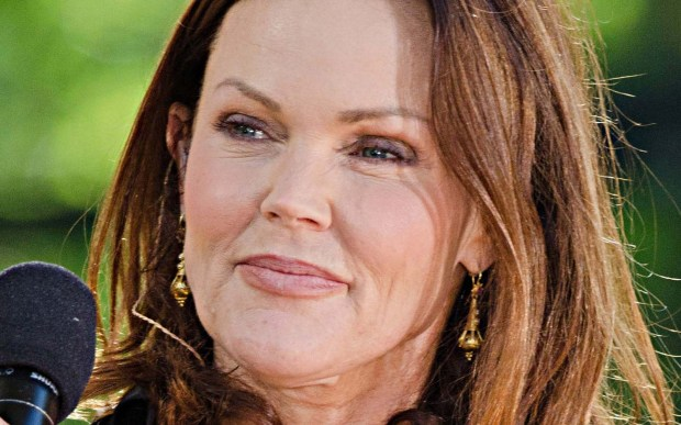 Singer Belinda Carlisle, frontwoman of the '80s girl group the Go-Gos, is 58. (Associated Press: Charles Sykes)