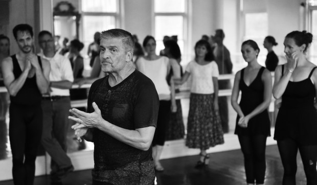 Marius Andaházy, youngest son of St. Paul City Ballet founders Lorand and Anna Andaházy, talks about his memories at the St. Paul City Ballet studio on Grand Avenue in St. Paul on Saturday, August 20, 2016. (Pioneer Press: John Autey)