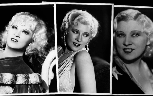 Actress Mae West — born on this day in 1893 and died in 1980 — used to be Snow White but she drifted. (Wire services)