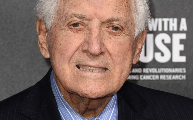 Game-show host Monty Hall is 95. What a deal. (Getty Images: Frazer Harrison)