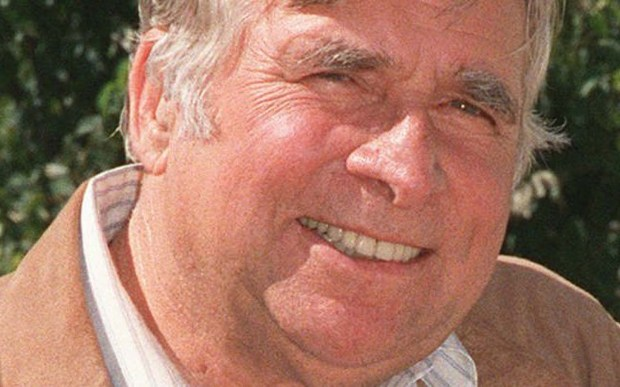 "The late ""Star Trek"" creator Gene Roddenberry was born on this day in 1921. The sci-fi icon died in 1991 at age 70, and his ashes were blasted into space. He's shown in a 1987 photo. (Associated Press file photo)"