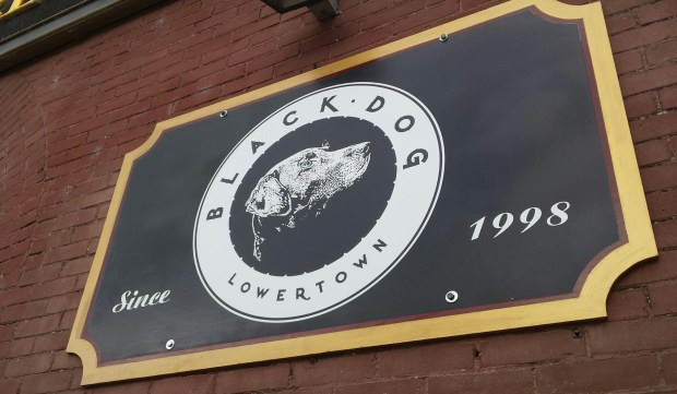 Black Dog Cafe in St. Paul's Lowertown. (Pioneer Press: Joseph Lindberg)