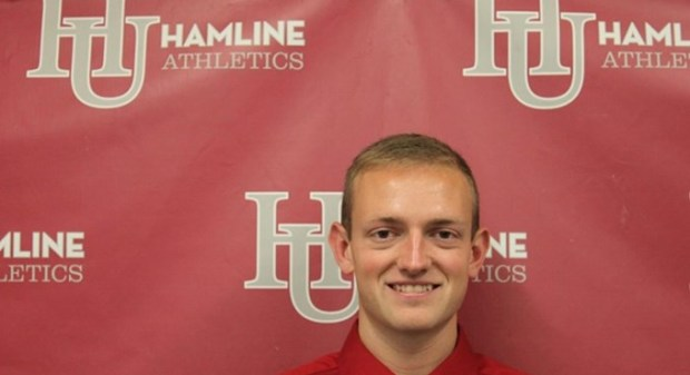 Devin Monson was named men's and women's cross country coach at Hamline on Friday.