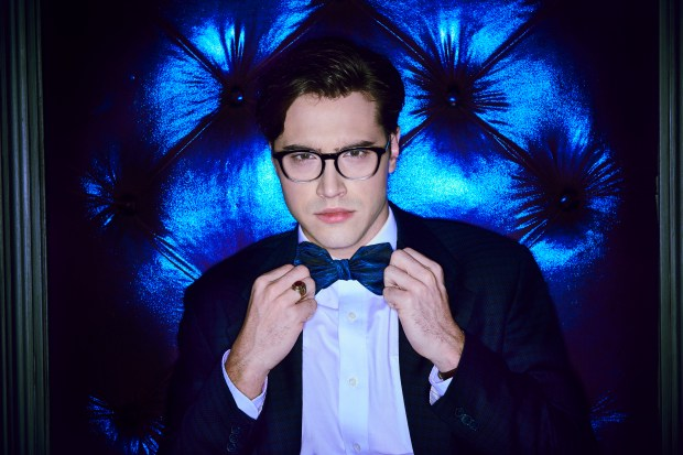 "Actor and Excelsior native Ryan McCartan as Brad in ""Rocky Horror Picture Show: Let's Do the Time Warp Again."" The show premiers at 9 p.m. Thursday, Oct. 20 on FOX. ©2016 Fox Broadcasting Co. Cr: Steve Wilkie/FOX"