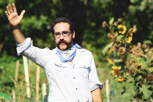 "Scotty Reynolds, in the 2012 picnic operetta, ""The Return of King Idomeneo."" (Travis Chantar photo)"