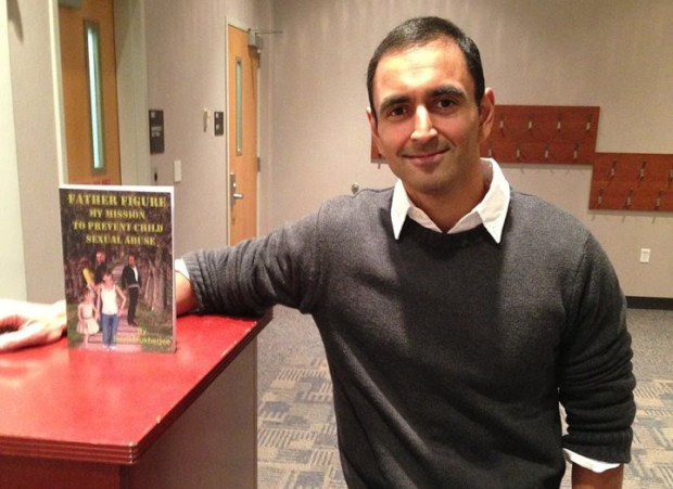 Sumi Mukherjee, 40, wrote a book about how he was bullied at school and how it developed into an obsessive compulsive disorder. Photo courtesy of Sumi Mukherjee.