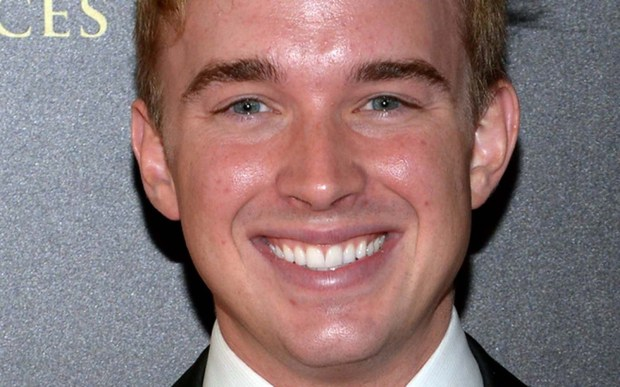 """Soap actor Chandler Massey is 26. The """"Days of our Lives"""" star is the first actor in a gay character role to receive a Daytime Emmy Award. (Getty Images: Jason Kempin)"""