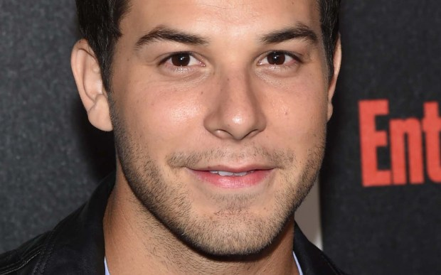 "Actor Skylar Astin of TBS's ""Ground Floor"" is 29. He also did ""Cavemen"" and ""Flock of Dudes,"" which apparently are two different projects. (Getty Images: Ethan Miller)"