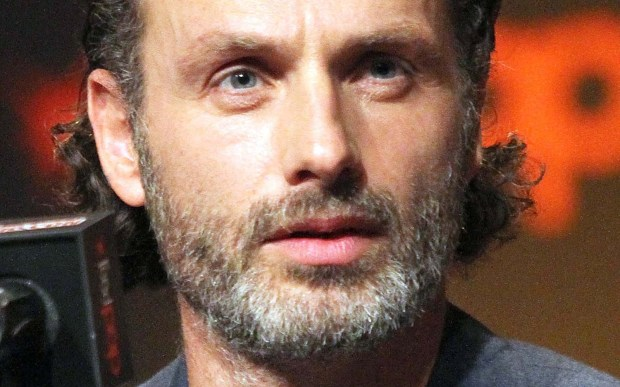 "Actor Andrew Lincoln of ""The Walking Dead"" is 43. (Getty Images: Laura Cavanaugh)"
