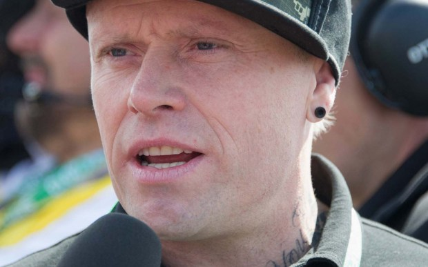 British vocalist Keith Flint of Prodigy is 47. (Getty Images: Mirco Lazzari)