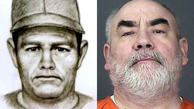 A 1989 sketch of the suspect in the Jacob Wetterling abduction, left. At right is Daniel Heinrich, who confessed to the killing.
