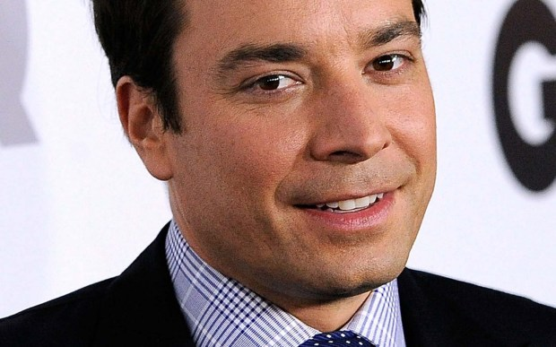 """Here's a tweet from comedian and """"SNL"""" alumnus Jimmy Fallon, 42 today and the guy behind """"Late Night Starring Jimmy Fallon"""": """"Thank you, all the back-to-school photos on Facebook, for giving me a break from seeing people dump ice on their heads. #thankyounotefriday"""" (Getty Images: Frazer Harrison)"""