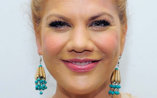 """Actress Kristen Johnston of """"3rd Rock From the Sun"""" is 49. More recently, she's seen in TV's """"The Exes."""" (Getty Images: Jemal Countess)"""