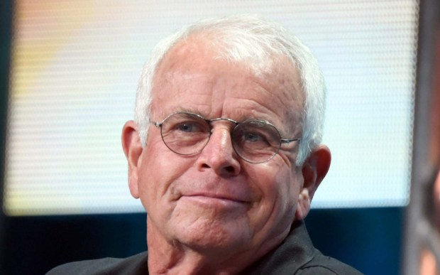 "Actor William Devane — ""24,"" ""Knots Landing"" — is 79. He's shown portraying President Kennedy in a scene from the 1974 movie ""The Missiles of October."" (Associated Press: Richard Shotwell)"