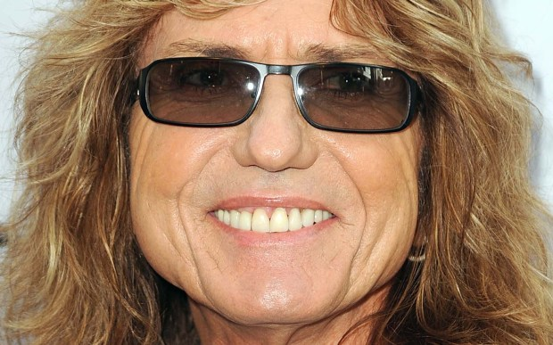 Singer David Coverdale of Whitesnake and Deep Purple is 65. (Getty Images: Frazer Harrison)