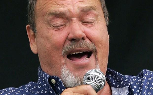 Singer David Clayton-Thomas of Blood, Sweat and Tears is 75. (Associated Press: Douglas C. Pizac)