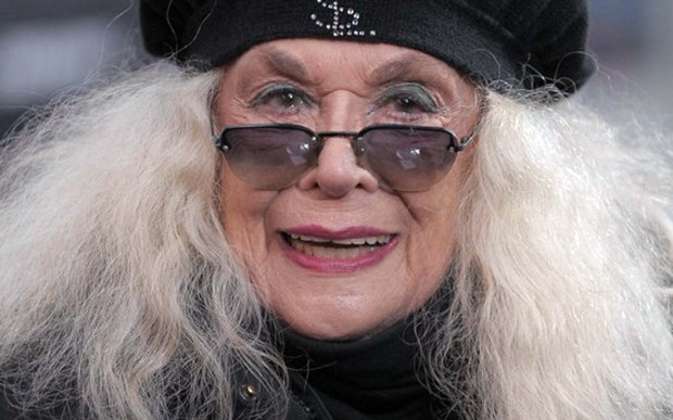 """Actress Sylvia Miles of """"Midnight Cowboy"""" is 84. (Getty Images: Michael Loccisano)"""