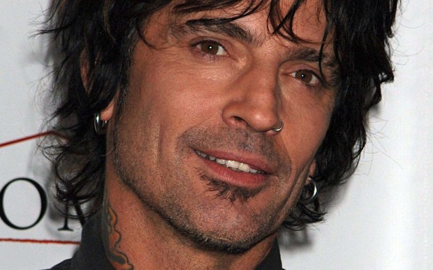 Drummer Tommy Lee of Motley Crue is 54. (Associated Press: Louis Lanzano)