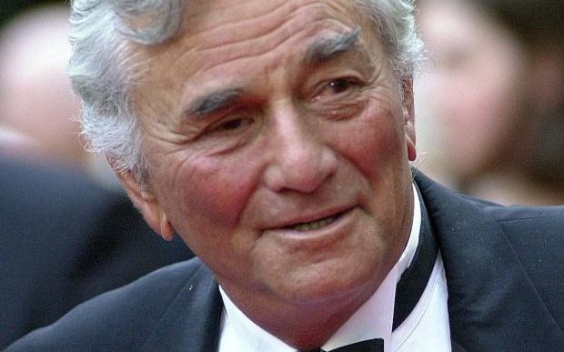 "Actor Peter Falk — best known for his role in the TV detective series ""Columbo"" — was born on this day in 1927. His other credits include ""It's a Mad, Mad, Mad, Mad World"" and ""Princess Bride."" He died in 2011. (Associated Press: Ron Frehm)"