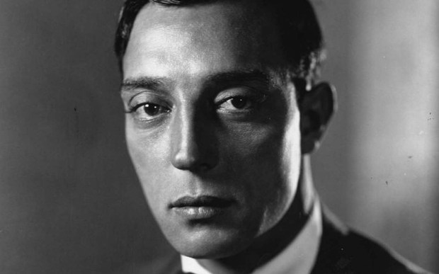 Stone-faced comic actor Buster Keaton, a star in the silent film era, was born on this day in 1895. He died in 1966. Photo is circa 1925, the height of his film career. (Photo by Hulton Archive/Getty Images)