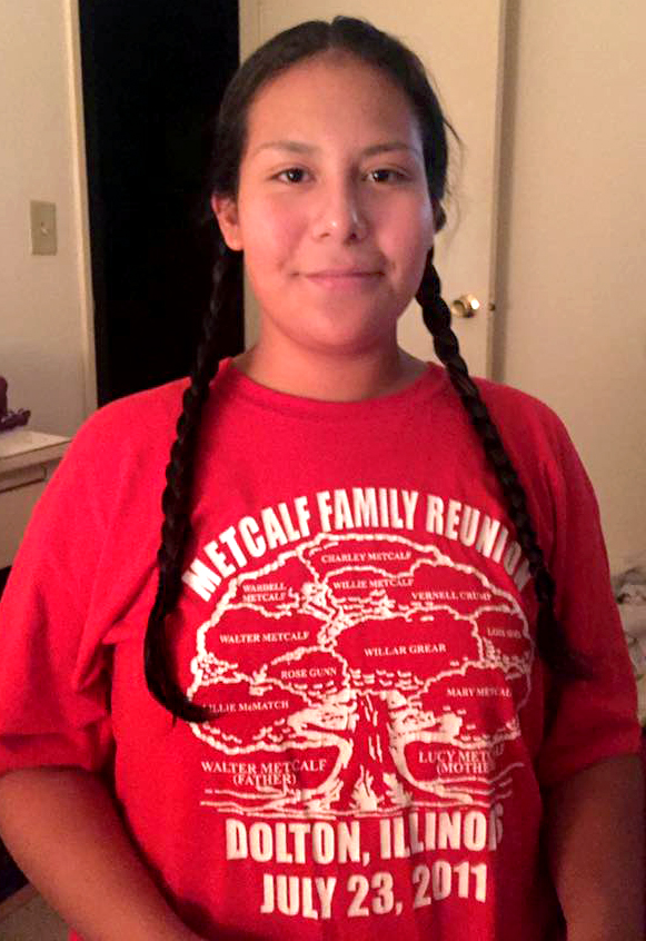 Undated courtesy photo of Samantha Burnette, 16, who was fatally shot in St. Paul on Sept. 25, 2016. (Courtesy photo)