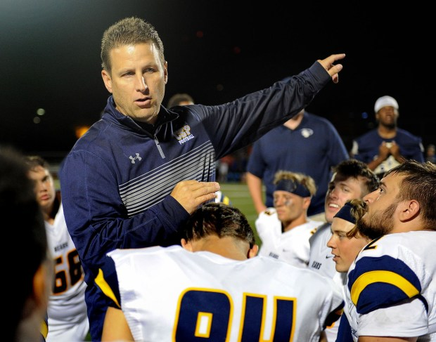 Undated courtesy photo of Concordia-St. Paul football coach Shannon Currier. Photo courtesy of Concordia University, St. Paul: Justin Oakman Photography.