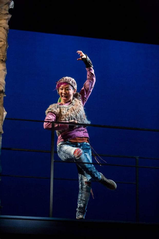 "Sun Mee Chomet, whose stage appearances include Guthrie Theater and Mu Performing Arts, is making here CTC debut in ""The Last Firefly."" (Dan Norman photo)"