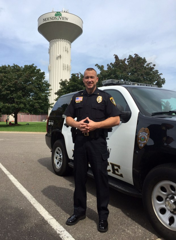 Nathaniel Harder, 42, became the city's police chief in August after serving as the Breckenridge, Minn., police chief for six years. (Courtesy photo)