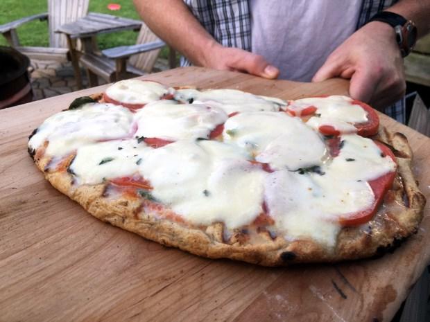 September 1, 2016 photo of margherita pizza. (Pioneer Press: Jessica Fleming)