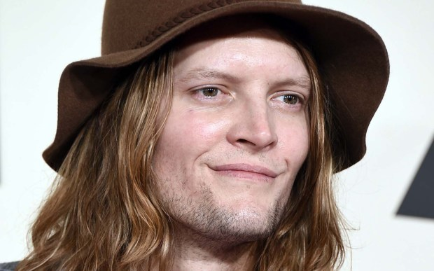 Bassist Daniel Tichenor of Cage the Elephant is 37. (Associated Press: Jordan Strauss)