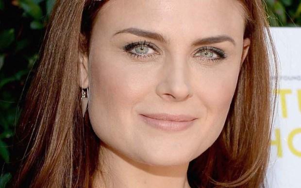 """Actress Emily Deschanel of """"Bones"""" is 40. (Getty Images: Michael Buckner)"""