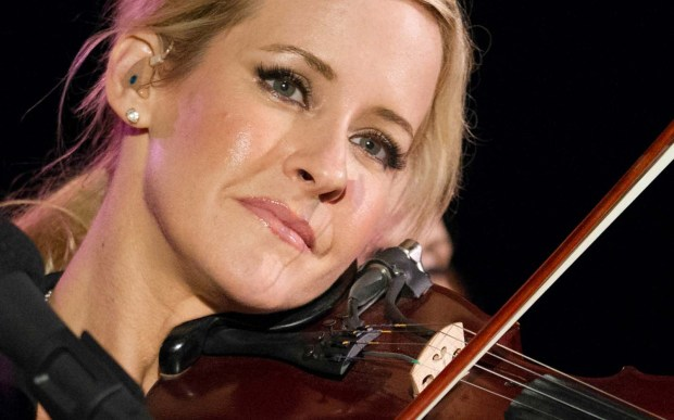 Fiddler Martie Maguire of the Dixie Chicks and of Courtyard Hounds is 47. (Getty Images: Kimberly White)