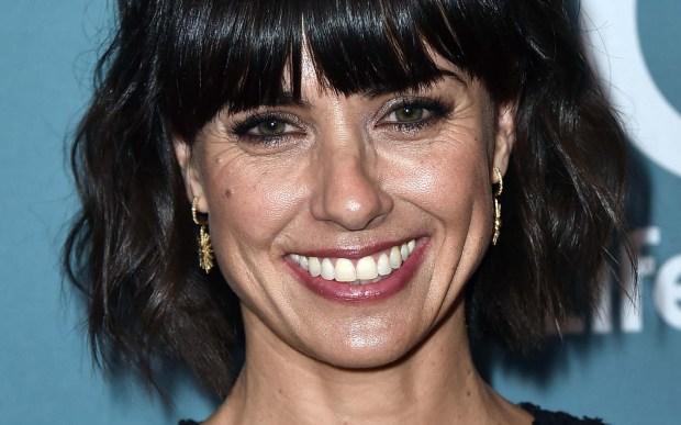 """Actress Constance Zimmer of """"Entourage"""" is 46. (Associated Press: Jordan Strauss)"""