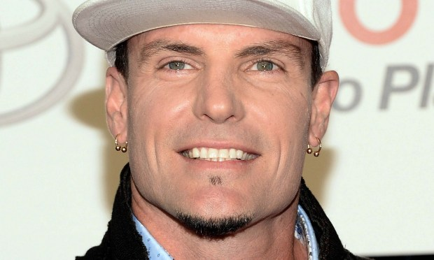 Musician Rob Van Winkle, aka Vanilla Ice, is 49. (Jason Kempin/Getty Images for BET)