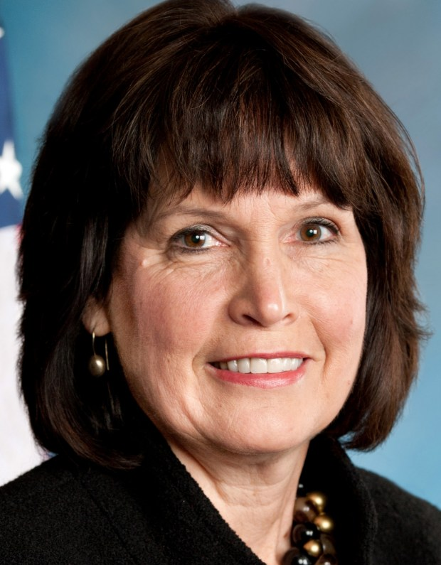 Undated courtesy photo, circa Oct. 2016, of U.S. Rep. Betty McCollum. McCollum is a Democrat serving her eighth term in the United States House of Representatives, representing Minnesota's Fourth Congressional District. In 2000, Congresswoman McCollum made history as only the second Minnesota woman elected to serve in Congress since statehood in 1858. McCollum represents the residents of Minnesota's capital city, St. Paul, as well as all of Ramsey County and most of Washington County. (Photo courtesy of Congresswoman Betty McCollum.