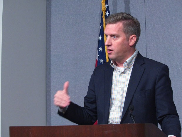 House Speaker Kurt Daudt on Oct. 26, 2016 (Don Davis: Forum Communications)