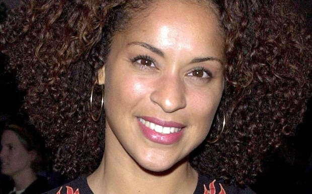 "Actress Karyn Parsons of 1980s TV's ""The Fresh Prince of Bel-Air"" is 50. (Courtesy of Newsmakers)"