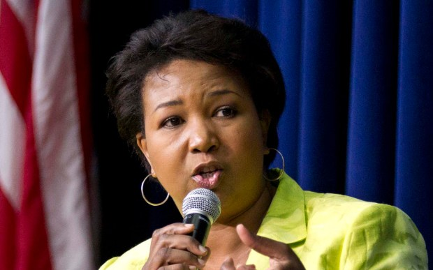 """Astronaut Mae Jemison — the first African-American woman in space — is 60. A crew member of the space shuttle Endeavor also once appeared on """"Star Trek: The Next Generation."""" (Associated Press: Manuel Balce Ceneta)"""