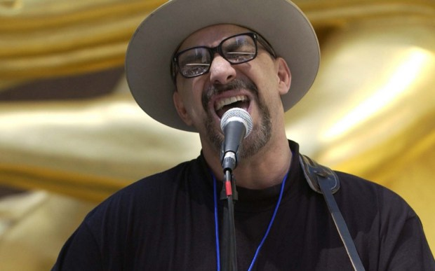 Singer-guitarist Pat DiNizio of The Smithereens is 61. (Getty Images: Ezra Shaw)