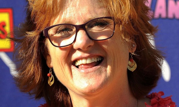 """This grown woman is the voice of Bart on """"The Simpsons."""" Actress Nancy Cartwright is 57. She also voices Nelson Muntz, Ralph Wiggum, Todd Flanders and Kearney -- and titled her autobiography and a play """"My Life as a 10-Year-Old Boy."""" (Valerie Macon/Getty Images)"""