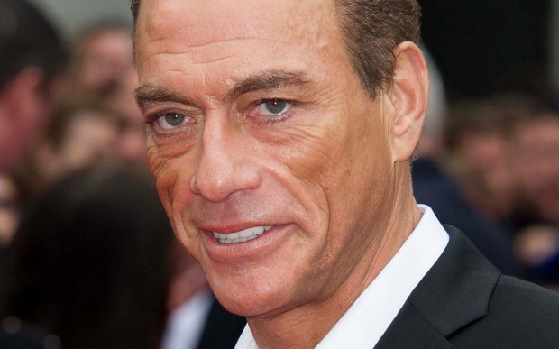 "Martial-arts actor Jean-Claude Van Damme, aka ""The Muscles from Brussels"" is 56. (Associated Press: Jonathan Short)"