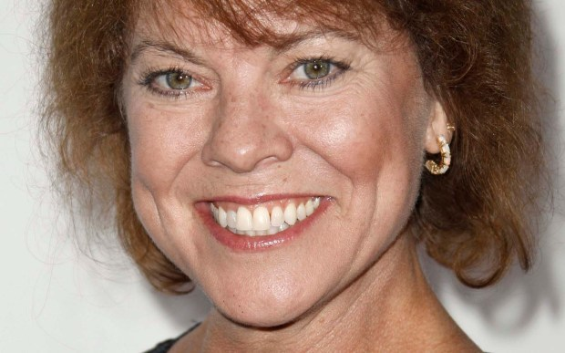 "Actress Erin Moran of the 70s sitcom ""Happy Days"" is 56. (Associated Press: Matt Sayles)"