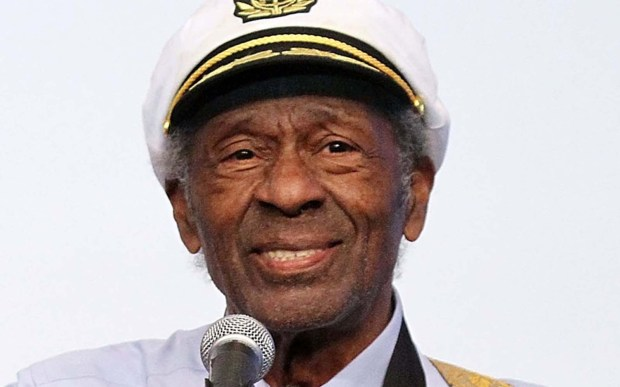 Singer-guitarist Chuck Berry is 90. (Getty Images: Marc Andrew Deley)