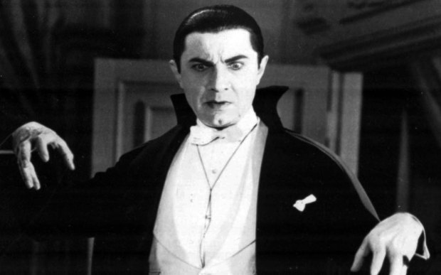 And here is Bela Lugosi, in his classic role in 1931. (Associated Press file photo)