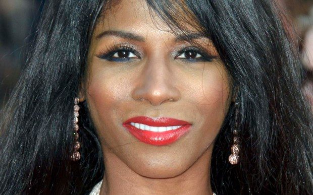 "Singer and ""X Factor"" judge Sinitta is 53. (Associated Press: Jonathan Short)"