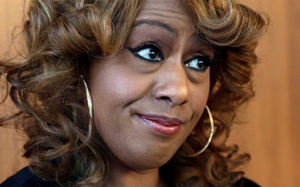 "Singer and Tony winner (for ""Dreamgirls"") Jennifer Holliday is 56. (Associated Press: John Bazemore)"