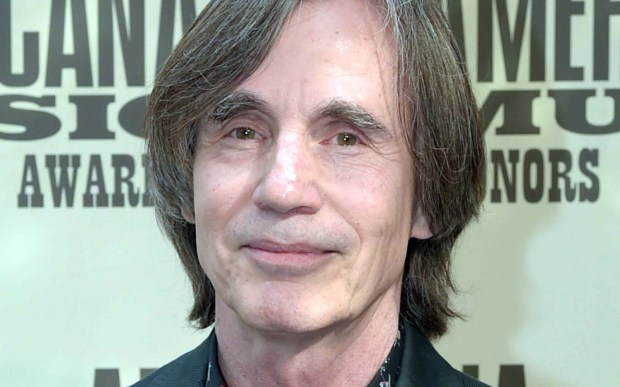 Singer Jackson Browne is 68. (Getty Images: Rick Diamond)